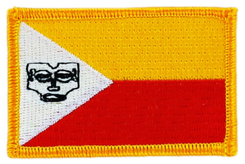 FLAG PATCH PATCHES MARQUESAS ISLANDS  IRON ON COUNTRY EMBROIDERED WORLD FLAG