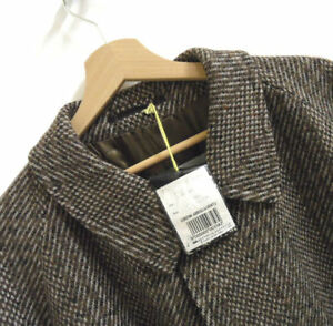 Maat Scottish Filey 46 Reg Bnwt Tweed Trenchcoat Aquascutum Mens J687 IxYUwq7