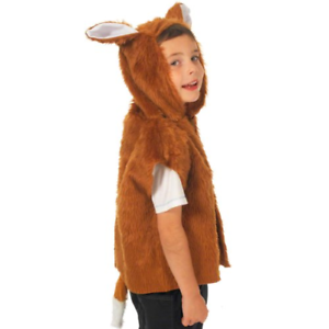 Charlie Crow Fox Costume for kids one size 3-9 Years