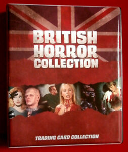 pour Horror de cartes base Collection cartable Ensemble avec officiel British 92 6XOTqxww