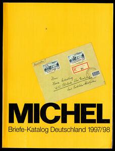 Michel-Briefe-Katalog-Deutschland-1997-98
