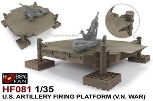 Hobby-Fan-1-35-HF-081-US-Artillery-Firing-Platform-Vietnam-War