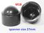 M5-M6-M8-M10-M12-M14-M16-M18-M20-M-Bolt-Nut-Domed-Cover-Caps-Plastic-Black miniatuur 4