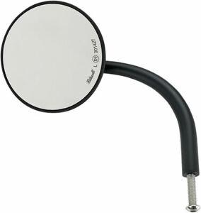 "Black 4/"" Round CE Certified Biltwell Inc Perch-Mount Utility Mirror"
