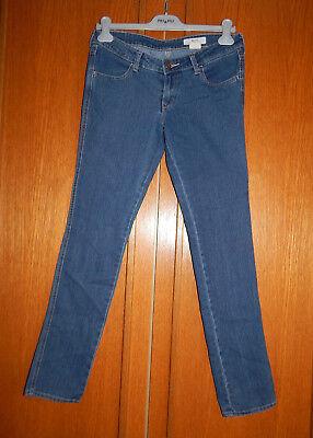 &sqim*jeans Damen Nwg! 69 % Cotton Blau Slim Gr. 28x32