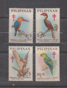 Philippine-Stamps-1967-Philippine-Birds-Complete-set-MNH