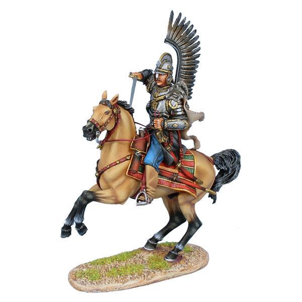 Prima Legione  TYW008 Hussar alato polacco Attaccato con la spada