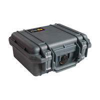 Pelican 1200 Case With Foam For Camera (black), New, Free Shipping.