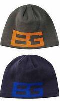 Bear Grylls Knit Beanie Cap Hat Black Blue