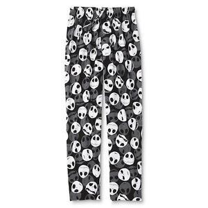 Image is loading Mens-Jack-Skellington-Sleep-Pants-Lounge-PJs-Nightmare- 1de8ce410