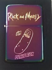 RICK and MORTY LIGHTER I'm Pickle Rick spectrum / rainbow finish with Gift Box