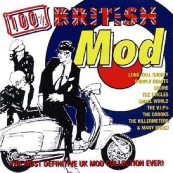 100% British Mod 2-CD NEW SEALED Killermeters/Squire/Purple Hearts/Cigarettes+