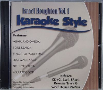 Musical Instruments & Gear Israel Houghton Volume 1 Christian Karaoke Style New Cd+g Daywind 6 Songs