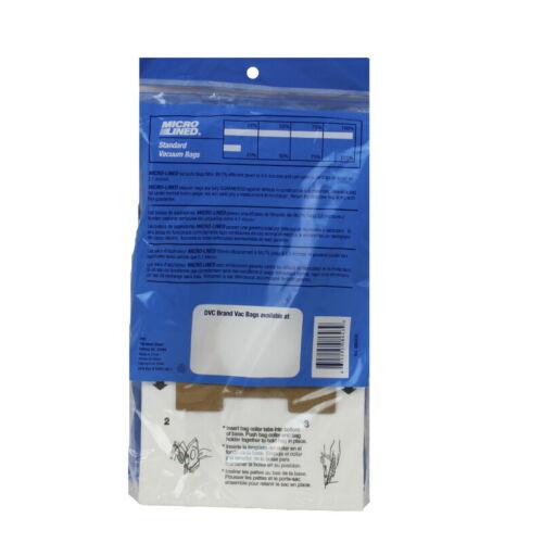 Panasonic Type C-13 Kenmore 50570 Micro Allergen Vacuum Cleaner Bags by DVC