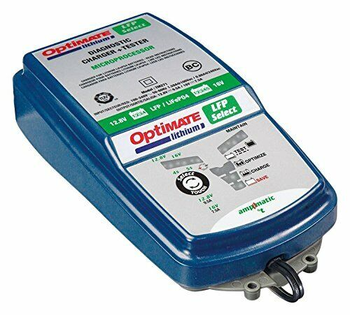 TM-271 10-step 12.8//16V 9.5A Battery savin 5s 7.5A OptiMATE Lithium 4s 9.5A