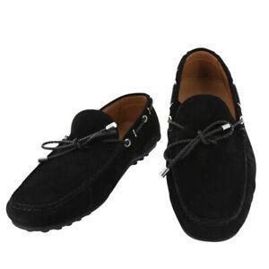 Neuf Fiori Di Lusso Daim Noir Chaussures - Mocassins - (2018032027)