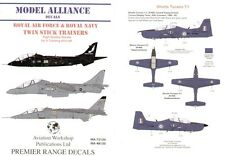 Model Alliance 1/48 RAF and Royal Navy/RN Twin Stick Trainers # 48130