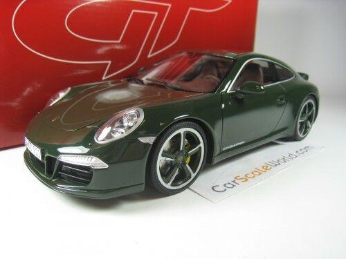 per poco costoso PORSCHE 911 CLUB COUPE (991) 1 18 GT SPIRIT (verde) (verde) (verde)  acquistare ora