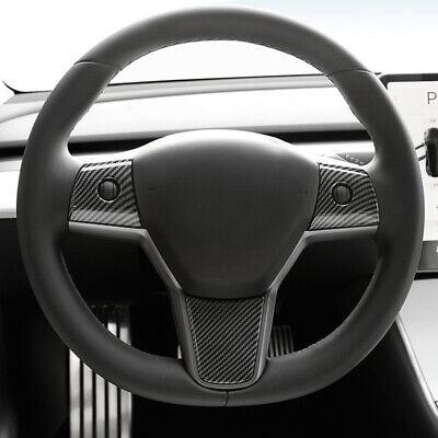 HIGH FLYING Interieur Dekor ABS Kunststoff Kohlefaserfarbe f/ür Tesla Model S 12-19// Model X 16-19 T/ürverkleidungen