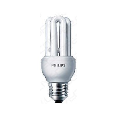 PHILIPS 14w GENIE E 27 WARM WHITE CFL ENERGY SAVER LAMP SET OF 2 pcs