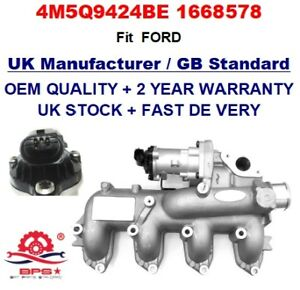 egr valve intake manifold 4m5q9424be for ford transit galaxy s max 1 8 tdci ebay. Black Bedroom Furniture Sets. Home Design Ideas