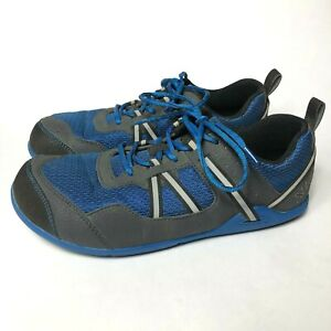 los angeles 16a1b ee60f Details about Xero Shoes Prio Blue Barefoot Minimalist Hiking Running  Athletic Shoes Men's 8.5