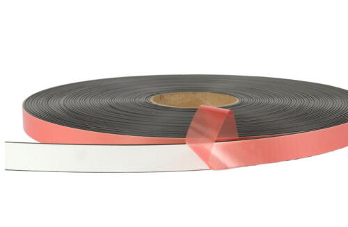 Foam Adhesive Magnetic Tape 10m 12.7mm, 20mm or 25.4mm Wide