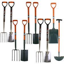 Garden Digging Spade Fork Shovel Border Edging Farm Carbon Stainless Steel Tools