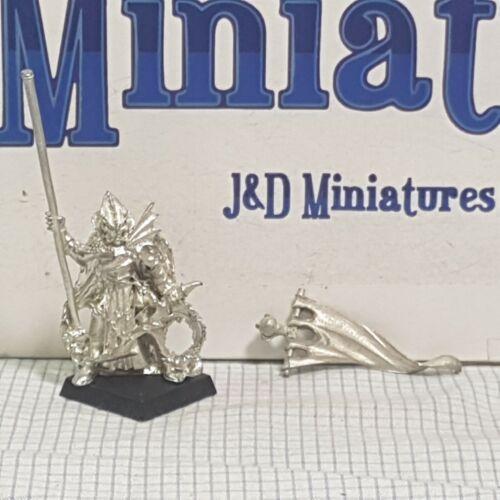 Games Workshop Citadel Warhammer elfos oscuros corsarios estándar 1999 Metal D/&D Elfo