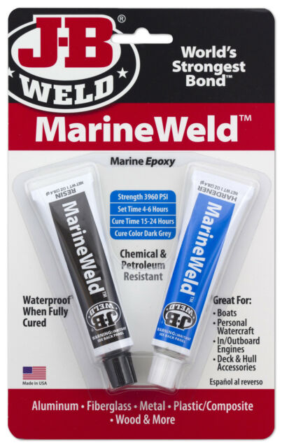 J-B Weld 8272 - MarineWeld - Marine 2 Part Epoxy marine Glue +PL