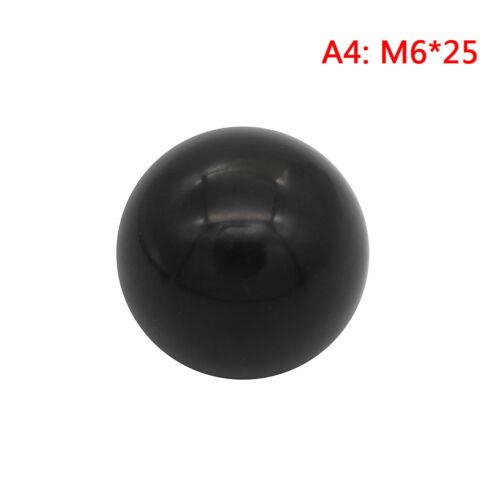 M10 M5 M12-Gewindekugelkopf P3 M8 Schwarzer Kunststoffknopf mit M4 M6