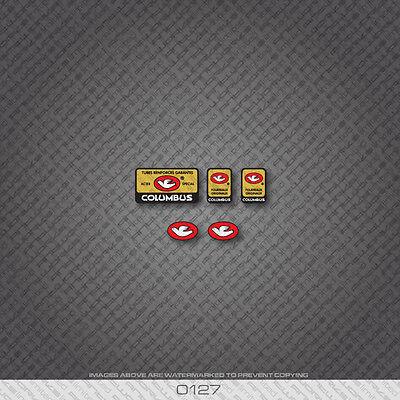 0127 Columbus Tubi Rinforzati Garantiti Bicycle Stickers Decals