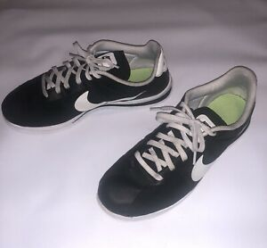 new concept ec267 98b90 Details about Nike Cortez Ultra Black And White Size 10.5 Mens