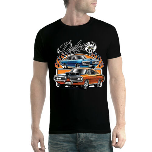 Dodge Super Bee Muscle Car Mens T-shirt XS-5XL