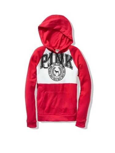 PINK Victoria/'s Secret Women Top Sweater Hoodie Sweatshirt