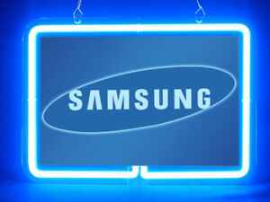 Samsung Mobile Galaxy Man Cave Hub Bar Shop Advertising Neon Sign