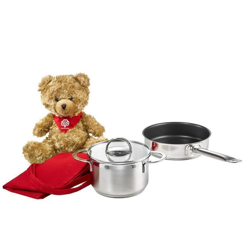 Schulte-orilla Little Lilly Kid Starter Set 5 piezas con Teddy sus ollas