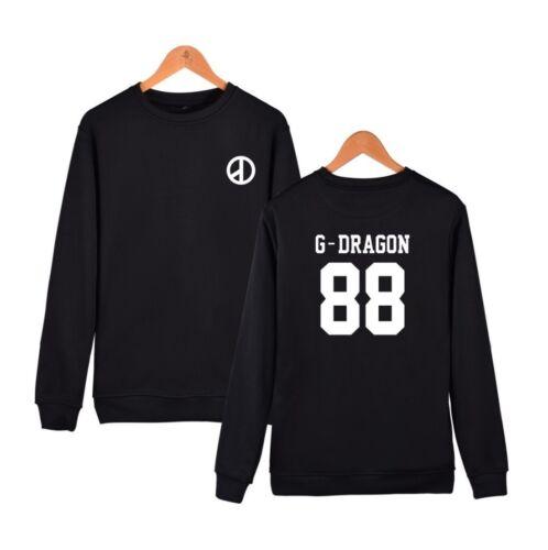 Kpop Bigbang GD Cap Hoodie MADE FULL G-Dragon Sweater Hoody Sweatershirt Coat