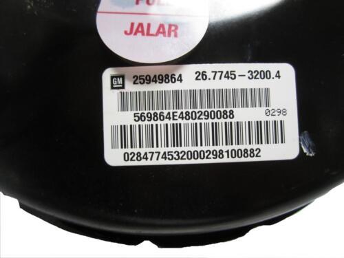 *NEW* Hydraulic Power Vacuum Brake Booster Genuine OEM 25949864 *Excludes SS