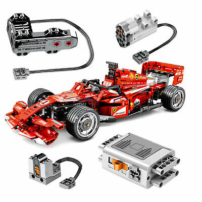 FERRARI F1 Car Racer MOC sets model building kits blo TECHNIC Building Blocks