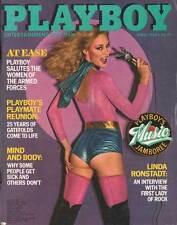 US PLAYBOY 1980/04 [April 4/80] Shari Shattruck*Liz Glanowski*Linda Ronstadt*TOP