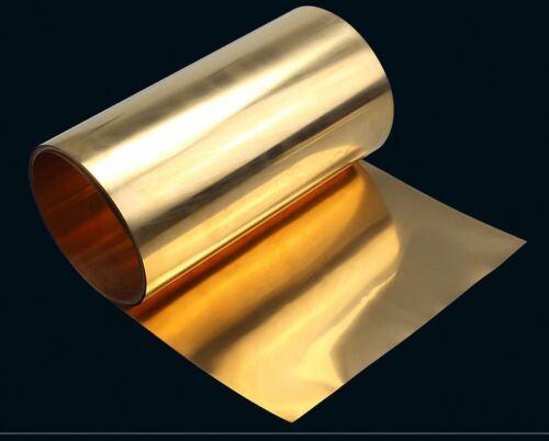 159A 2.0mm C17500 Grade Beryllium Copper Sheet Plate Select Size 0.02mm