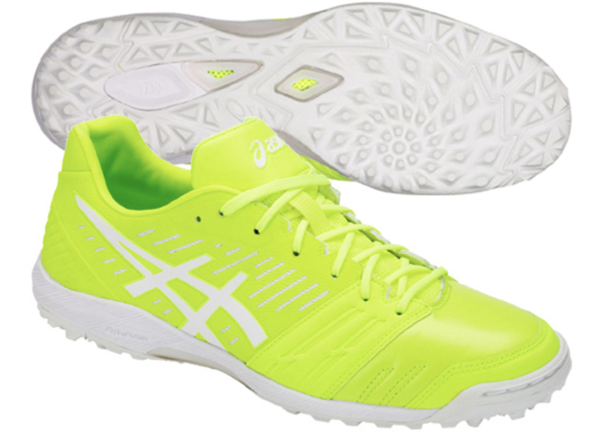 ASICS JAPAN DESTAQUE TF FF INDOOR Football Soccer Futsal scarpe 1111A004 giallo