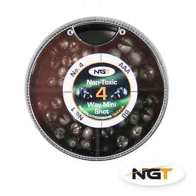 NGT 6 WAY NON-TOXIC SPLIT SHOT  DISPENSER