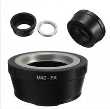 M42 Lens FX Adapter To Fujifilm Fuji X Mount X-Pro1 X Pro1 X-E1 X-M1 Camera Adap