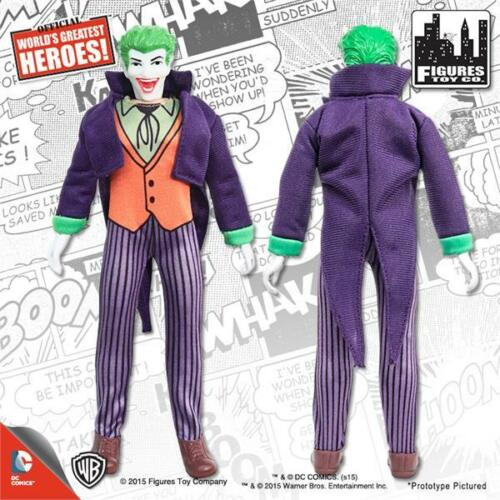 SUPER POWERS SERIES 2 JOKER 8 INCH FIGURE POLYBAG MEGO FIST FIGHTER NEW