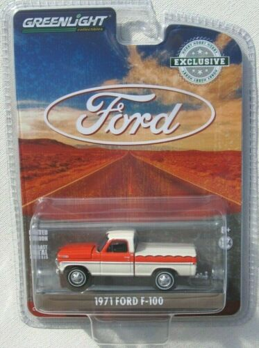 GREENLIGHT HOBBY ONLY 1971 FORD F-100 PICKUP EXCLUSIVE SHORT BED