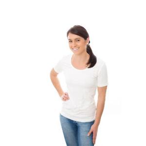 Womens-Short-Sleeve-Bamboo-White-TShirt