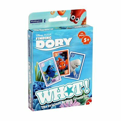 forma y números de tarjeta de viaje de familia de niños que empareja Juego Nuevo Encontrar Dory Whot