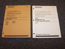 CAT Caterpillar 325 325L 325N Excavator Owner's Owner Operator Manual Set